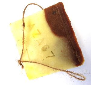 Savons-Ficelles Cacao Karité Patchouli Palmarosa AZA07